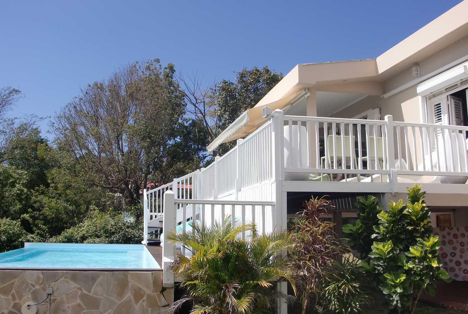 Diamant location vacances le diamant villa piscine le for 972 martinique location maison